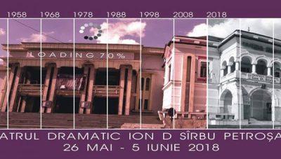 Teatrul Dramatic Ion D. Sîrbu - 7 decenii de existență în viața culturală a Văii Jiului