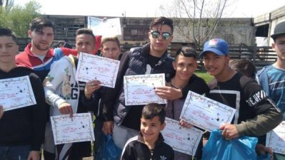 Fotbal în competiție specială pentru romi, la Vulcan