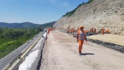 Ministrul Transporturilor crede că în august se va putea circula pe A1 și pe loturile 3 și 4, Lugoj-Deva