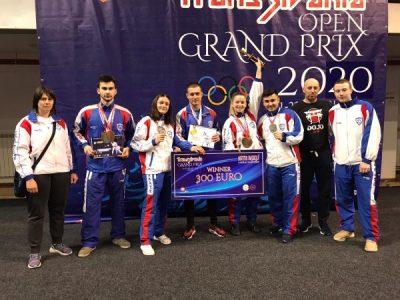 Sportivii CSM Jiul Petroșani, pe podium la Transilvania Grand Prix ESKU