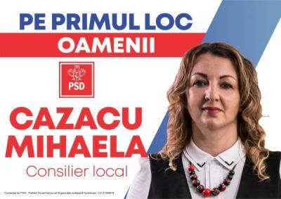 Profil de candidat al PSD Lupeni pentru Consiliul local: MIHAELA CAZACU