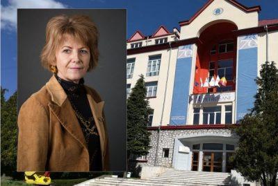 Echipa de conducere a Universității din Petroșani a fost completată cu un nou prorector: prof.univ.dr.ing. Maria Lazăr