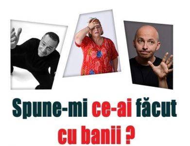 Actorii Anca Sigartău, Claudiu Bleonț și Claudiu Maier urcă pe scena teatrului din Petroșani