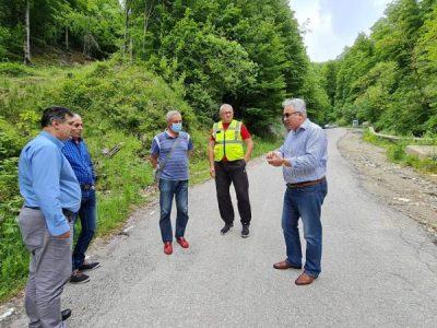 Reparații pe DJ 705A Costești-Sarmizegetusa Regia, dar și pe alte drumuri județene