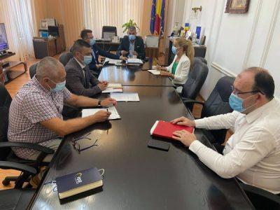 Situația post-restructurare a CEH, analizată la Prefectura Hunedoara