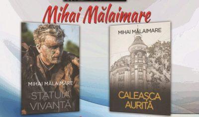 Actorul Mihai Mălaimare lansează două volume de carte la Deva