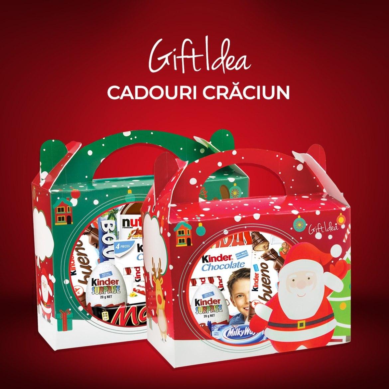 Pentru că se apropie Sărbătorile de Iarnă, Gift Idea ți-a pregătit cele mai interesante coșuri cadou pentru Crăciun