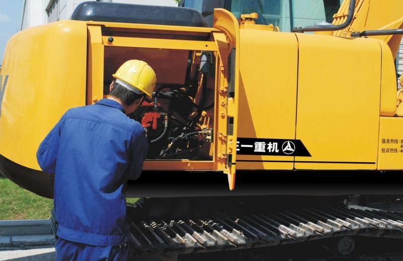 6 sfaturi pentru întreținerea corectă a trenului de rulare a excavatorului