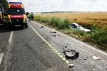 Accident cu două victime la Gohor
