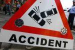 Accident rutier cauzat de nerespectarea culorii roşii a semaforului