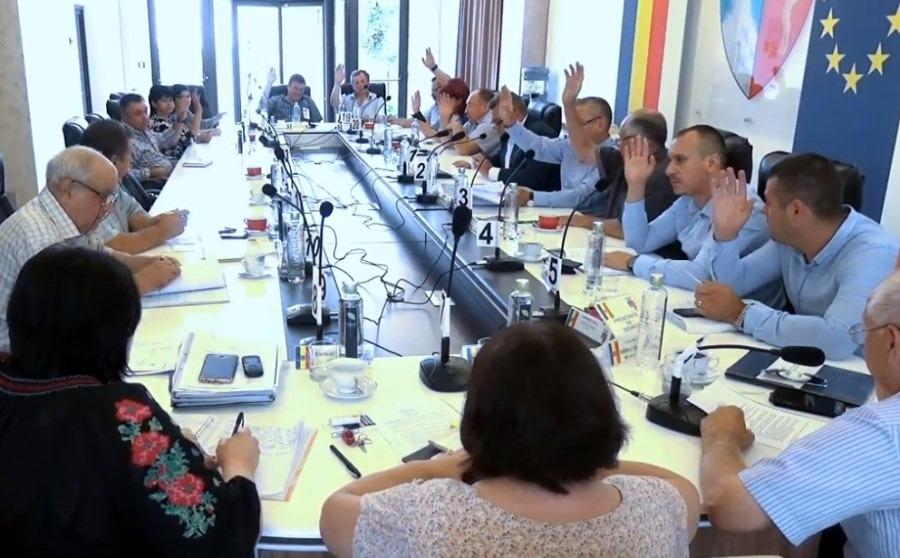 Proiectele ședinței ordinare a Consiliului local pentru luna iulie