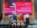 Rezultate excepţionale obţinute de ACS Neko-Me Tecuci la Campionatul European de karate din Slovenia