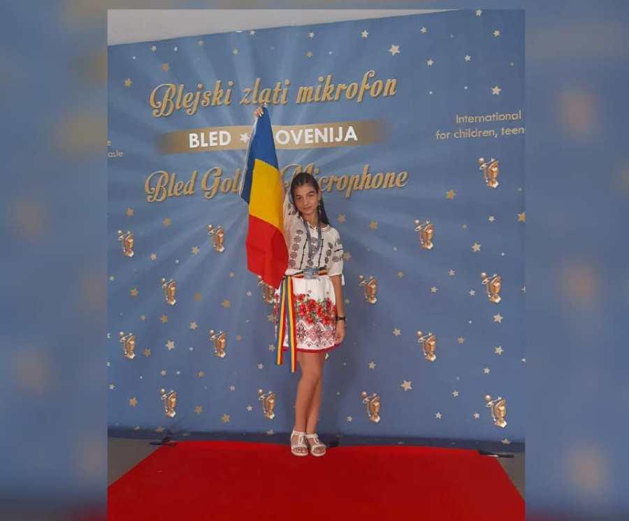 Alesia Munteanu a fost premiată la Festivalul din Slovenia