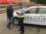 Permise reţinute şi amenzi într-o acţiune a Poliţiei în staţiile CFR din judeţul Galaţi