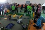 Spectacol unic la Tecuci. Demonstraţii inedite ale elevilor constructori de roboţi - Foto
