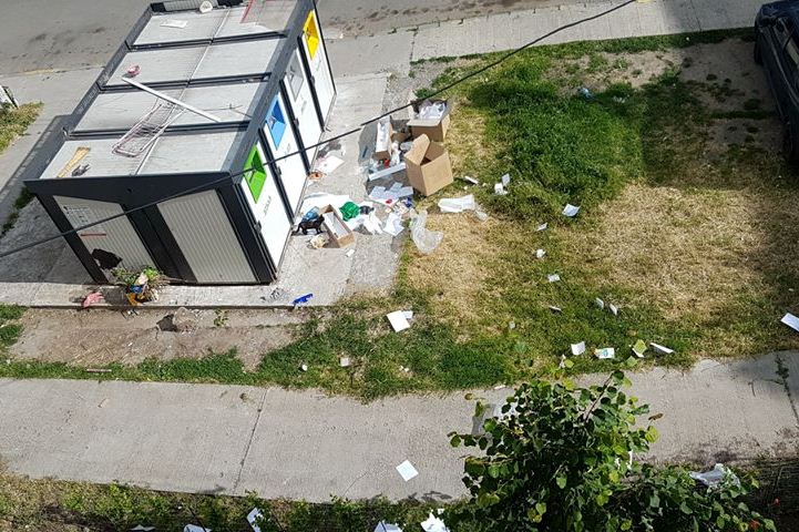 Tecuci: Managementul deşeurilor lasă de dorit