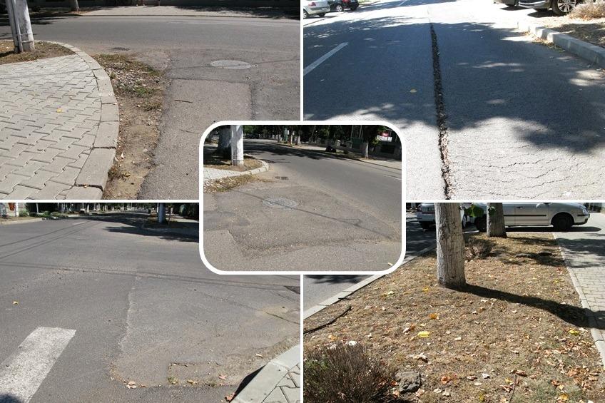 Bulevardul Victoriei: Cartea de vizită a administraţiei Hurdubae necesită deja reparaţii – Foto