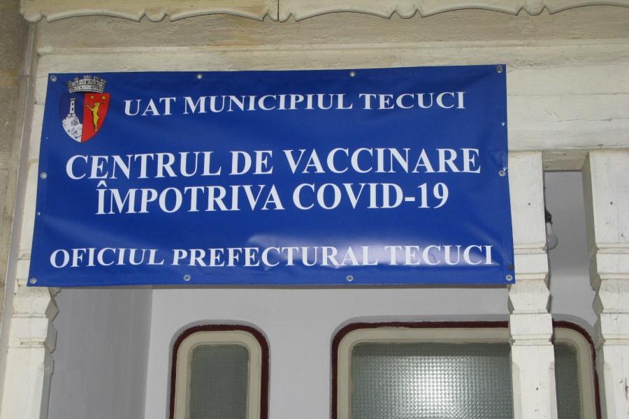 Vaccinările continuă la Tecuci şi în judeţ