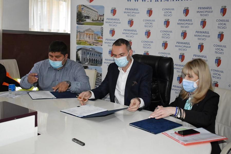 A fost semnat contractul pentru finalizarea centurii ocolitoare Tecuci