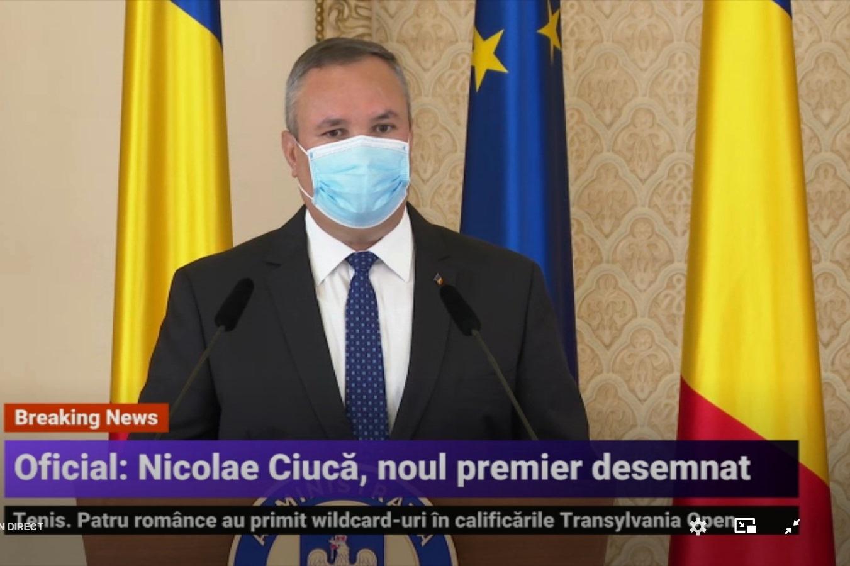 A fost desemnat un nou premier: Nicolae Ciucă