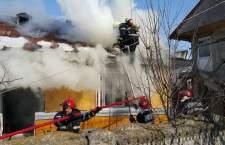 Șase intervenții ale pompierilor la incendii de locuințe în numai 48 de ore