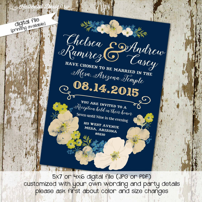 Print Home Baby Shower Invitations