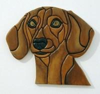 Dachshund, Wood Sculptured Wall Decor. | GalleryatKingston