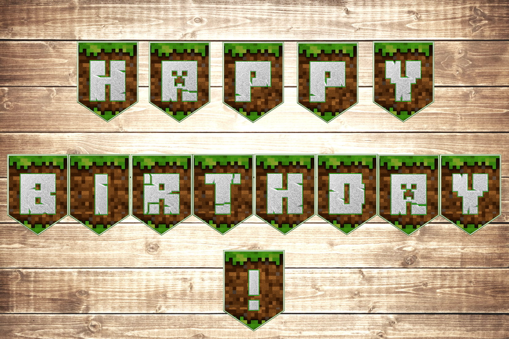 Free Printable Minecraft Letters That Are Accomplished Mason Website