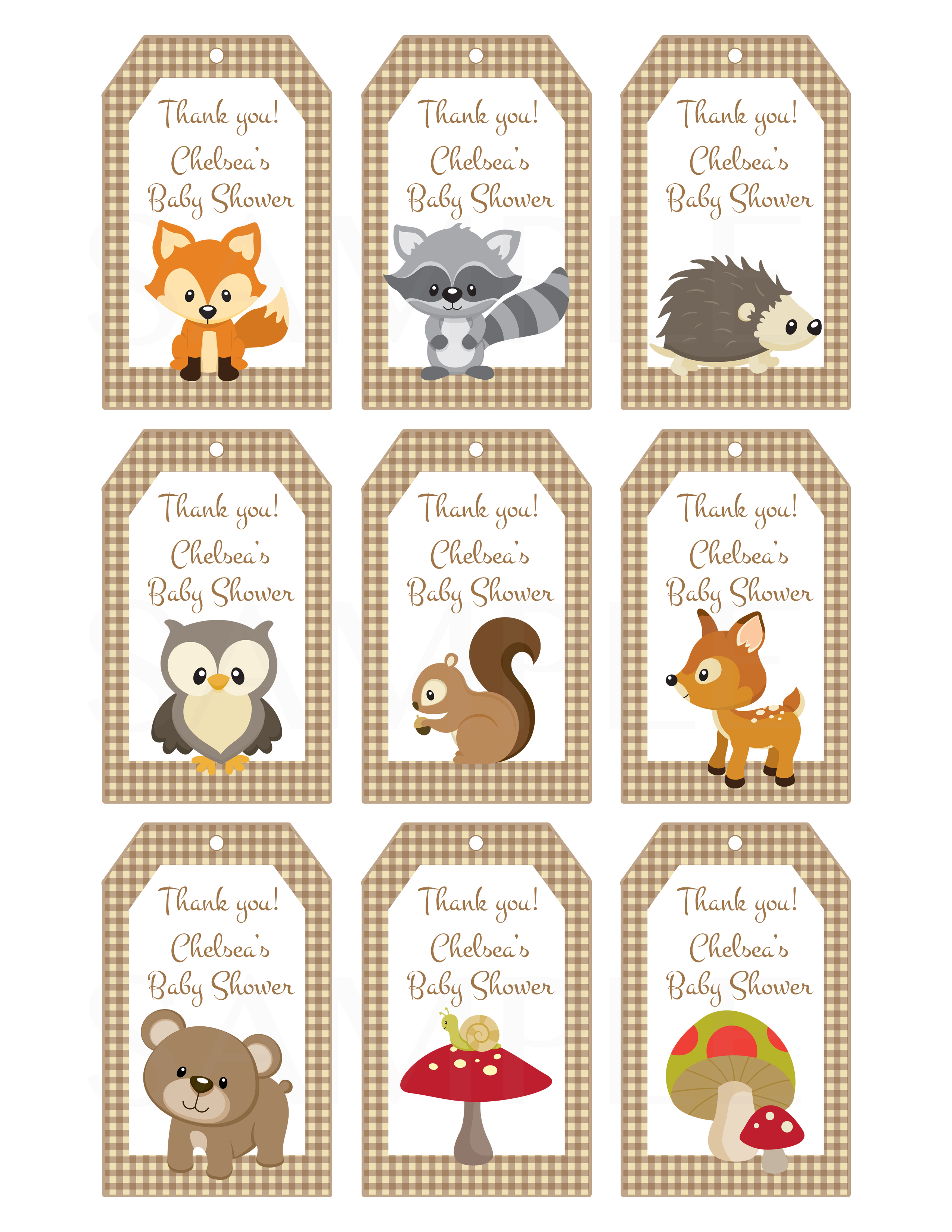 Woodland Friends Forest Animals Theme By Thelovelymemories