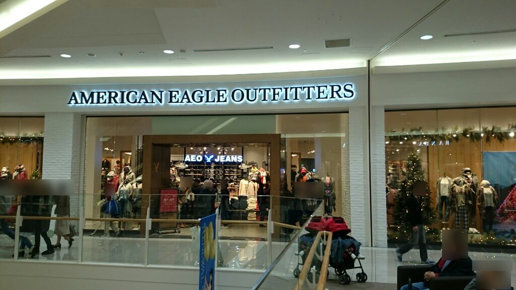 「American Eagle Outfitters(アメリカンイーグル) サイズ表」大きさは ...