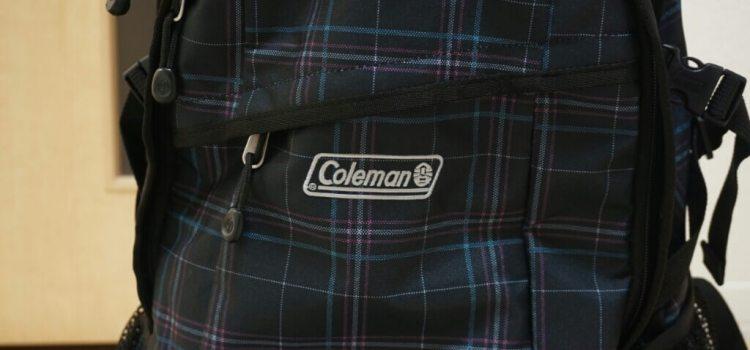 「Coleman(コールマン) リュック ウォーカー25」育児中にもリュックはやっぱり便利でおすすめ。