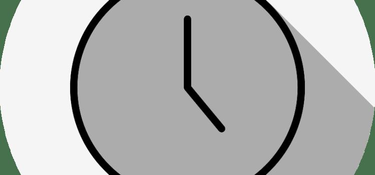 スマホのロック画面の時計の変更方法。