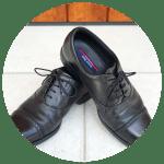 テクシーリュクスのビジネスシューズ(革靴)はスニーカーのような履き心地で快適。