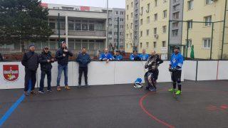 Hokejbal Ziegelfeld vs lg Petržalka
