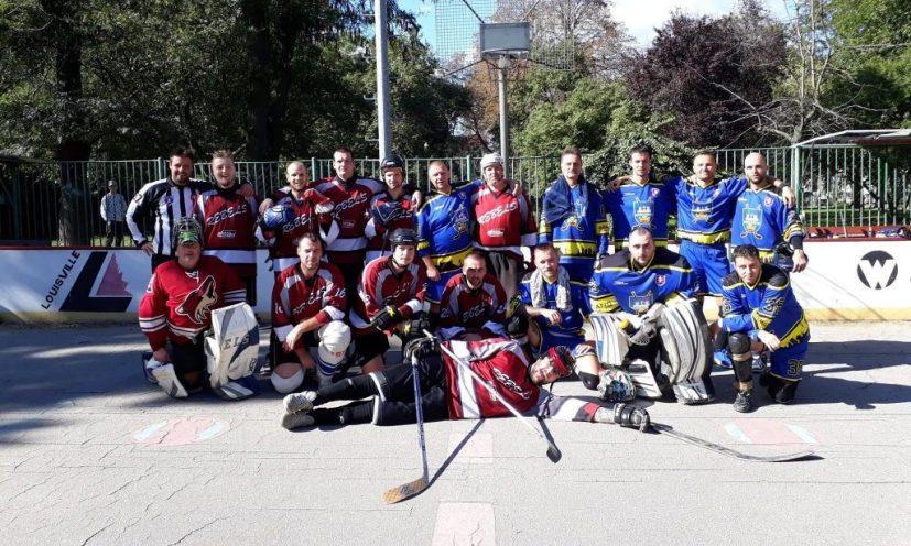 BHBL - Hokejbalový zápas SBHC Rebels vs HBK Board Vrakuňa