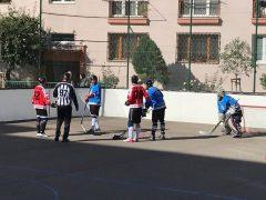 Bratislavská hokejbalová liga - BHBL - Hokejbalový zápas Ziegelfeld vs Hancop dolné hony