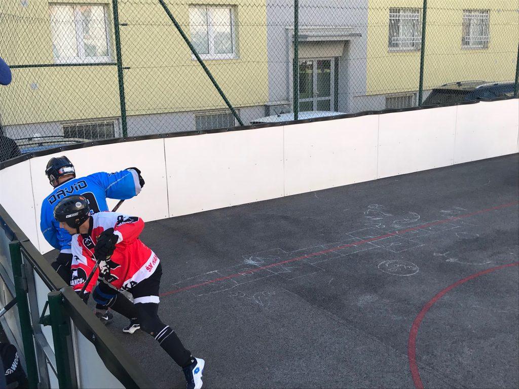 BHBL - Hokejbalový zápas Ziegelfeld vs Hancop dolné hony