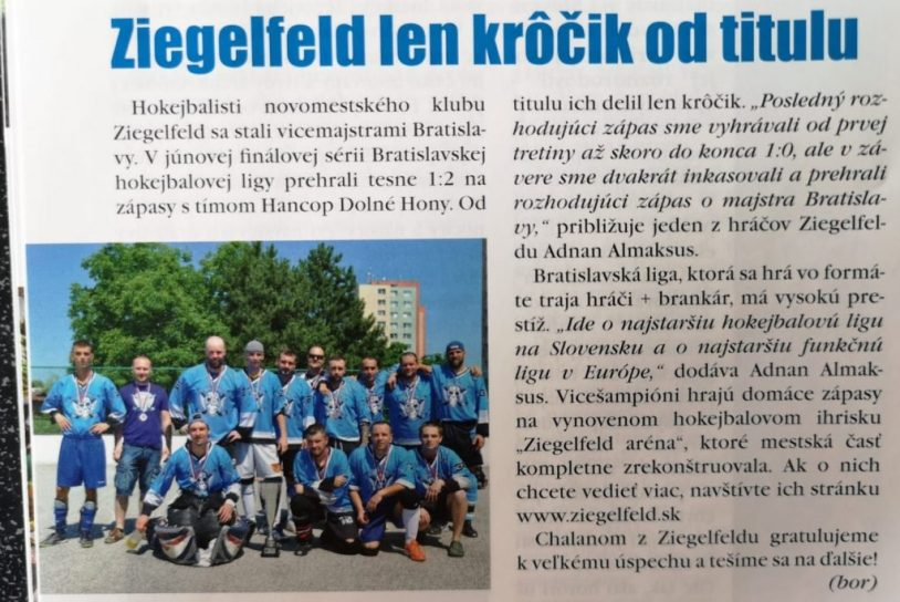 Ziegelfeld v časopise