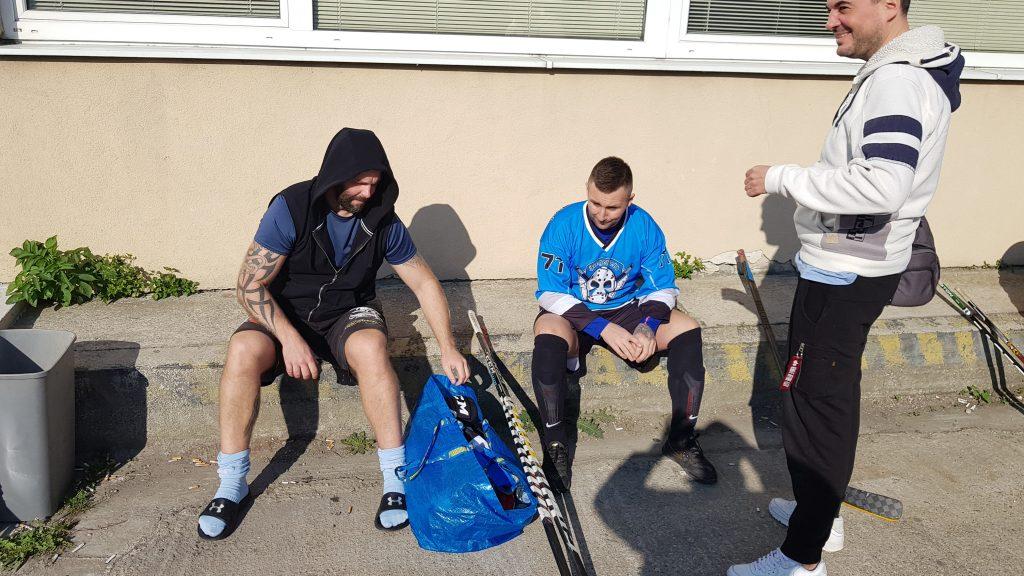 Hokejbalový zápas Empiria Petržalka vs Ziegelfeld