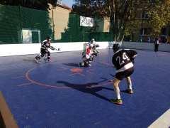 Hokejbalový zápas BHBL HBK 500 Nivy vs SAV Lamač