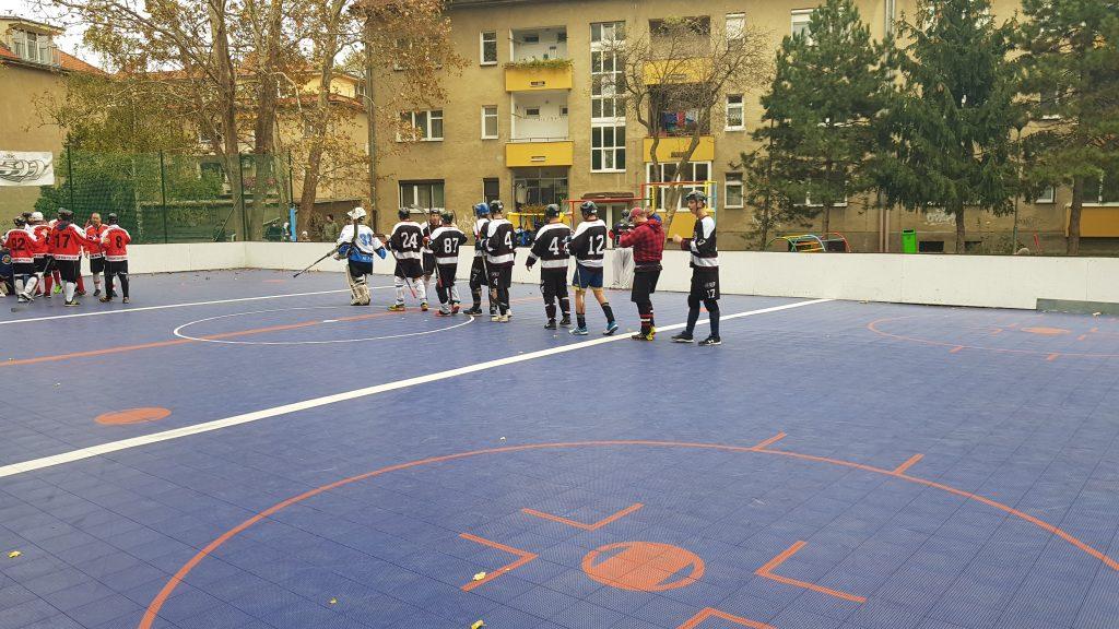 Hokejbalový zápas BHBL : HBK 500 Nivy vs Hancop Dolné Hony