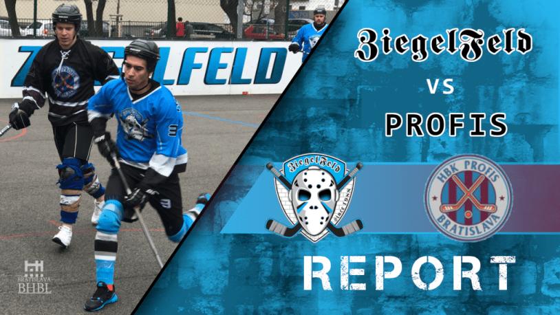 18. kolo BHBL Report Ziegelfeld vs Profis