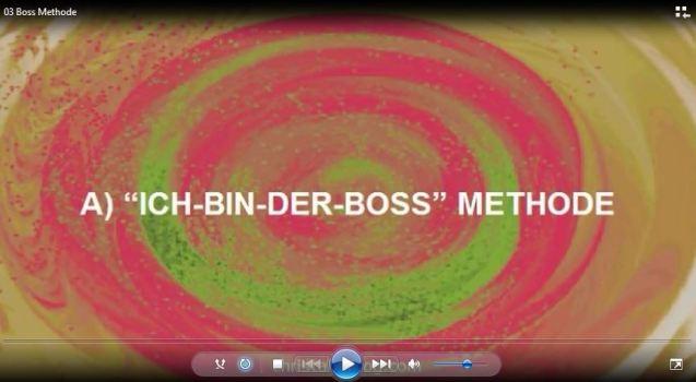 Ich-bin-der-Boss Methode
