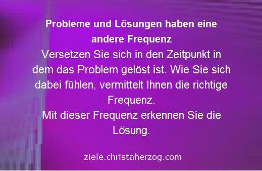 Probleme Lösungen und Frequenzen