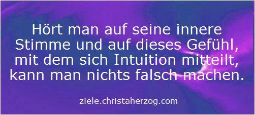 Intuition kennt die Wahrheit