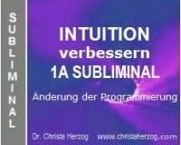 intuition verbessern 1a subliminal