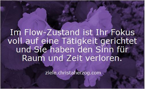 Im Flow-Zustand sein