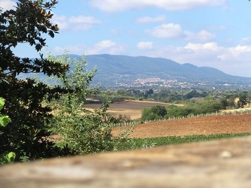 Süd-Italienische Landschaft