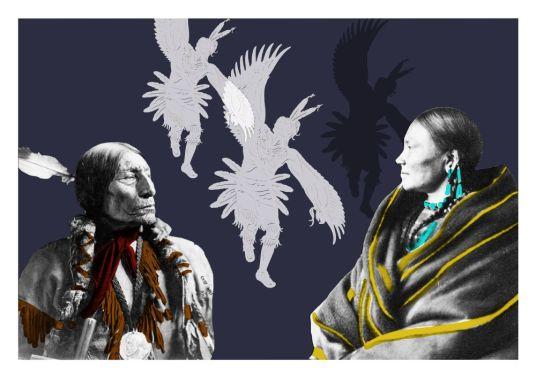 Bajka indiańska o orle, który był kogutem