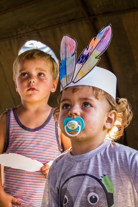 Warsztaty dla dzieci Kamishibai - Boruszyn 2015